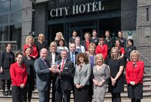 City Hotel Awards / Some of the awards and accomplishments our team have achieved throughout the years!