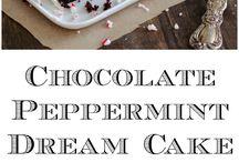 peppermint sjokoladekake
