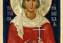 Iconografie Sfinte Femei - ianuarie