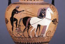 Jarrones griegos