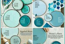 Aqua hues