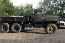 Rhino lined vehicle's