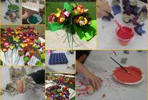 riciclare a scuola / materiali di tanti tipi da ricreare