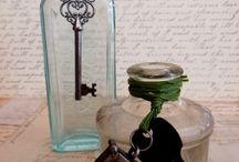 vintage bottles / by Barbara Garofano