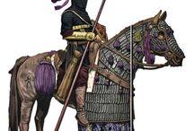 middel eastern warriors