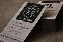 Business cards / Wizytówki