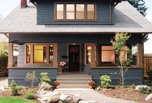 Craftsman Style / I love Craftsman style. My house is a 1912 original with a classic Craftsman interior. Some of these examples are decidedly more modern.