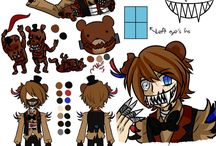 Five nights at Freddy's saga / Pole-Bear Design