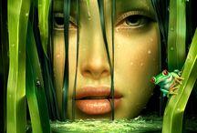 Fantasy (Green) / by Amanda Roman