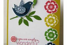 Stampin Up Set - Betsy's Blossoms