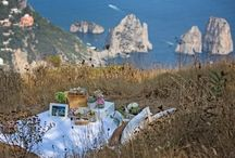 Capri Moments  | Our Works / A selection of our works on Capri Island. See more on caprimoments.com Wedding and Party | Design by Capri Moments  #weddingincapri #capriwedding #matrimoniocapri #weddingcapri