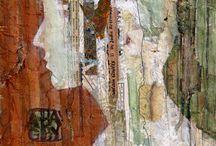 ART: Collage/mixed media / by Abbey Trescott