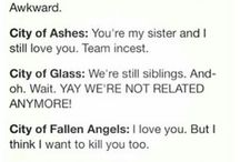 The Mortal Instruments/The Infernal Devices