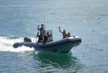 LOMAC 7 m / Semirrígida de 7 metros de eslora para Taxi Boat a isla de Lobos