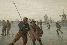 GOYEN (van) Jan - Détails / +++ MORE DETAILS OF ARTWORKS : https://www.flickr.com/photos/144232185@N03/collections