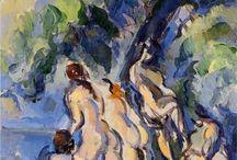 Painting. Paul Cezanne