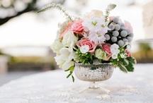 Flower Arrangements For Weddings - Shabby Chic