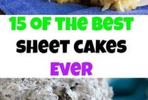 RECIPES:  Cake (sheet)