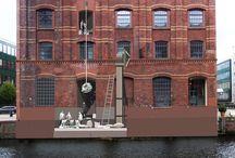 Hamburg / Wallpainting