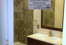 Other Bathrooms And Tile Work By Creative Ideas Carpentry By Brian Tenney / These are some other remodeled bathrooms and tile work by Creative Ideas Carpentry By Brian Tenney