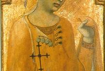 Medioevo veli e Acconciature (originali)