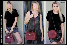Red Purses from 14th Rose / Leather Purses, Made in USA