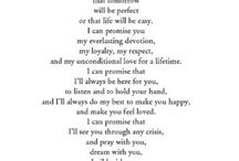 Love Quote | Vows