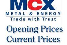 MCX Commodity Updates