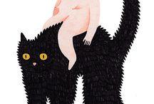 animals: illustration