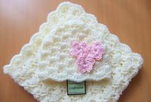 Baby blanket and hat / Crochet
