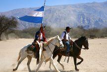 Argentinos de a caballo
