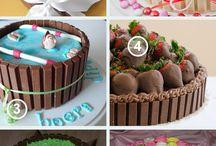 Cakes en taart