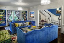 CIH Design completed projects with color galore and lots of Designers Guild / This board includes completed projects by CIH Design that display an array of colorful combinations of fabrics, furnishings and textures.