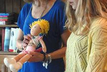 Mother Daughter Doll Collecting
