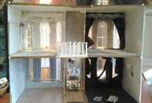 Dolls House Research Agatha Christie's townhouse. / To research and create a fantasy townhouse for Agatha Christie.