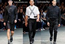 Givenchy uomo / Givenchy collezione e catalogo primavera estate e autunno inverno abiti abbigliamento accessori scarpe borse sfilata uomo.