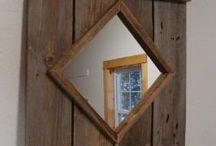 Tavle med speil