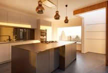 Less is More / the simple design of this understated kitchen allows the beauty of the stunning architecture to shine through