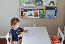 Organizador Mesa infantil