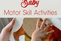 Baby play ideas / Ideas to encourage development in babies. Activities to entertain babies. Simple ideas for when it all seems too much.