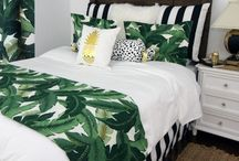 Tropical Leaf Room Ideas