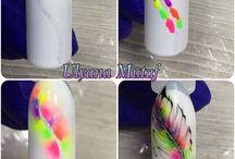 Aquarell nails