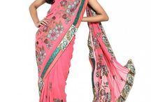 Sari-definitely not predictable / by Indianmyra