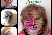Ansigtsmaling / Ansigtsmaling af Kreatina