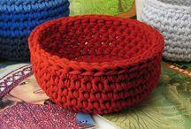 T-shirt Yarn (knit & crochet ideas)