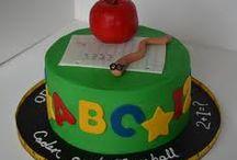 Teacher birthday cakes