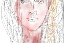 Sinoun Blomfield Work / Drawing and work