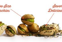 The Gilded Nut Snack Co. / Savory, Flavored Pistachios, made in small batches with only the finest ingredients.