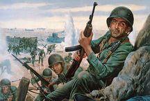 história da guerra