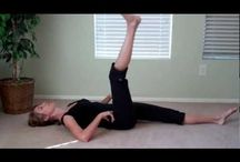 Pilates Videos by Jen / Some of my favorite short, Pilates videos to help you achieve a flat tummy and healthy spine and joints.